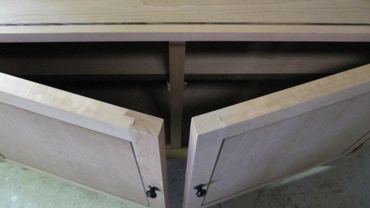 houten kast op maat gemaakt